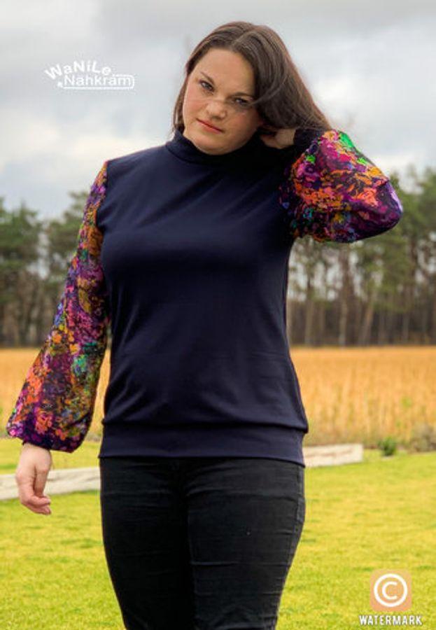 Produktfoto 34 von drei eMs für Schnittmuster Shirt/Kleid LACONA + Rock CLARIE XS-XXXL