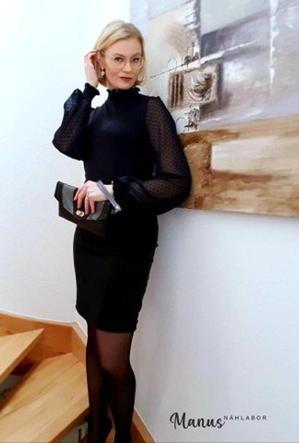 Produktfoto 38 von drei eMs für Schnittmuster Shirt/Kleid LACONA + Rock CLARIE XS-XXXL