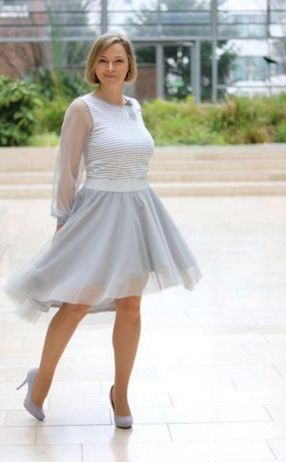Produktfoto 41 von drei eMs für Schnittmuster Shirt/Kleid LACONA + Rock CLARIE XS-XXXL