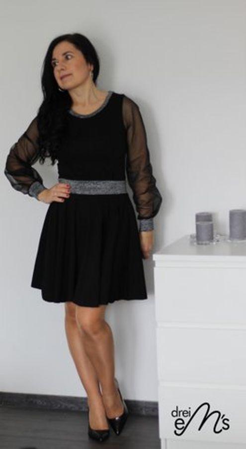 Produktfoto 43 von drei eMs für Schnittmuster Shirt/Kleid LACONA + Rock CLARIE XS-XXXL