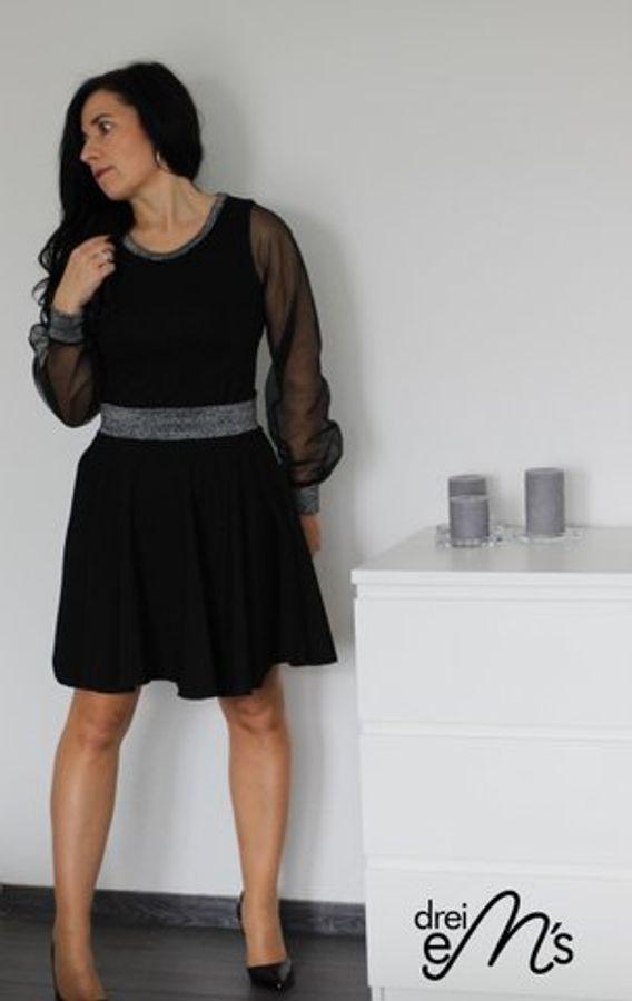 Produktfoto 44 von drei eMs für Schnittmuster Shirt/Kleid LACONA + Rock CLARIE XS-XXXL