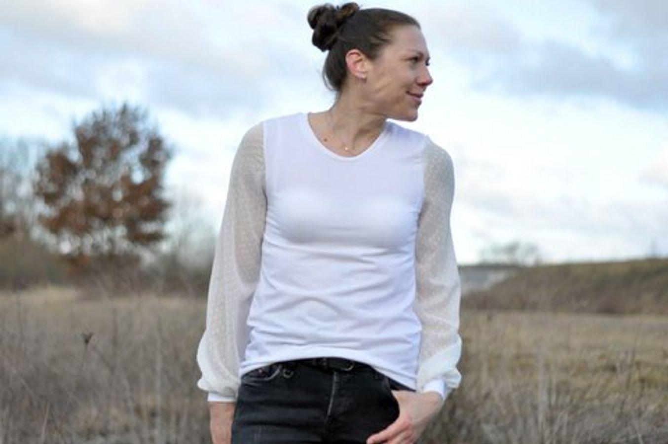 Produktfoto 50 von drei eMs für Schnittmuster Shirt/Kleid LACONA + Rock CLARIE XS-XXXL