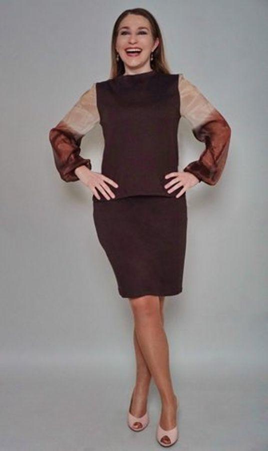 Produktfoto 52 von drei eMs für Schnittmuster Shirt/Kleid LACONA + Rock CLARIE XS-XXXL