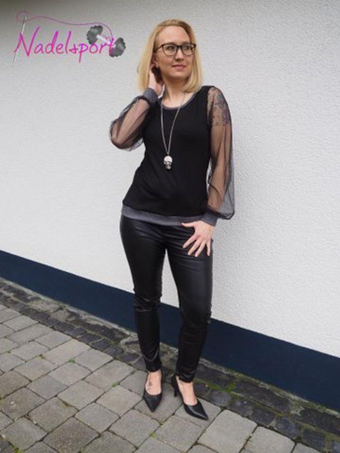 Produktfoto 53 von drei eMs für Schnittmuster Shirt/Kleid LACONA + Rock CLARIE XS-XXXL
