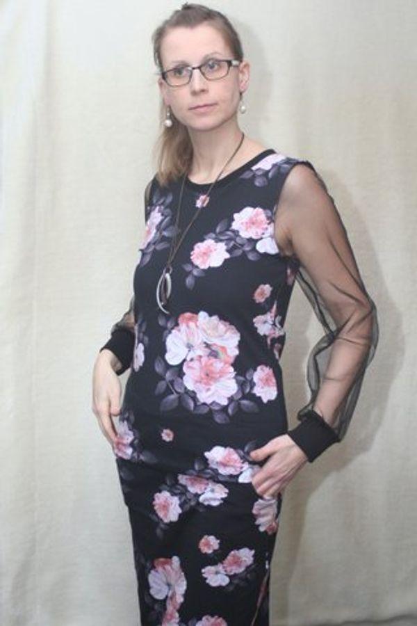 Produktfoto 63 von drei eMs für Schnittmuster Shirt/Kleid LACONA + Rock CLARIE XS-XXXL