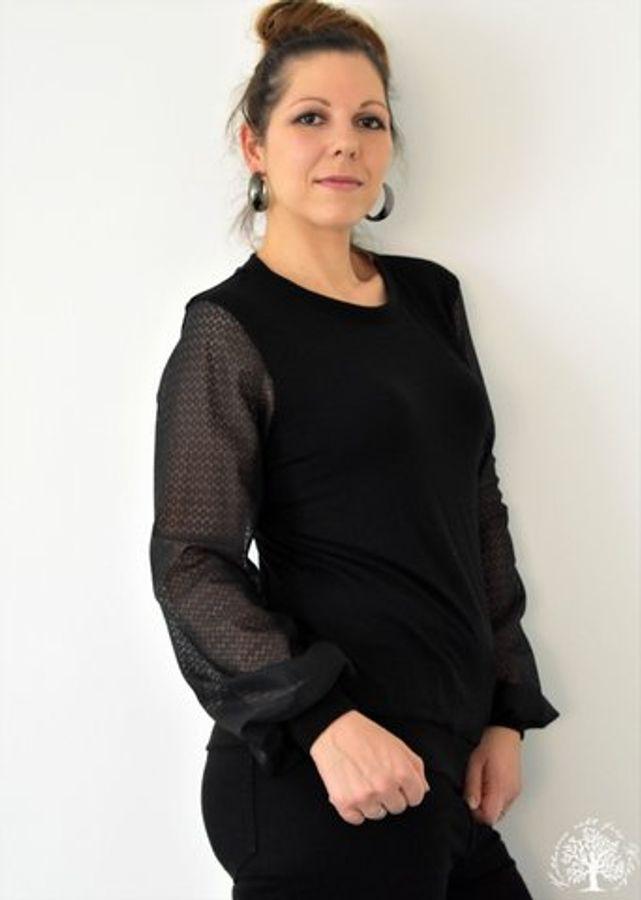 Produktfoto 70 von drei eMs für Schnittmuster Shirt/Kleid LACONA + Rock CLARIE XS-XXXL