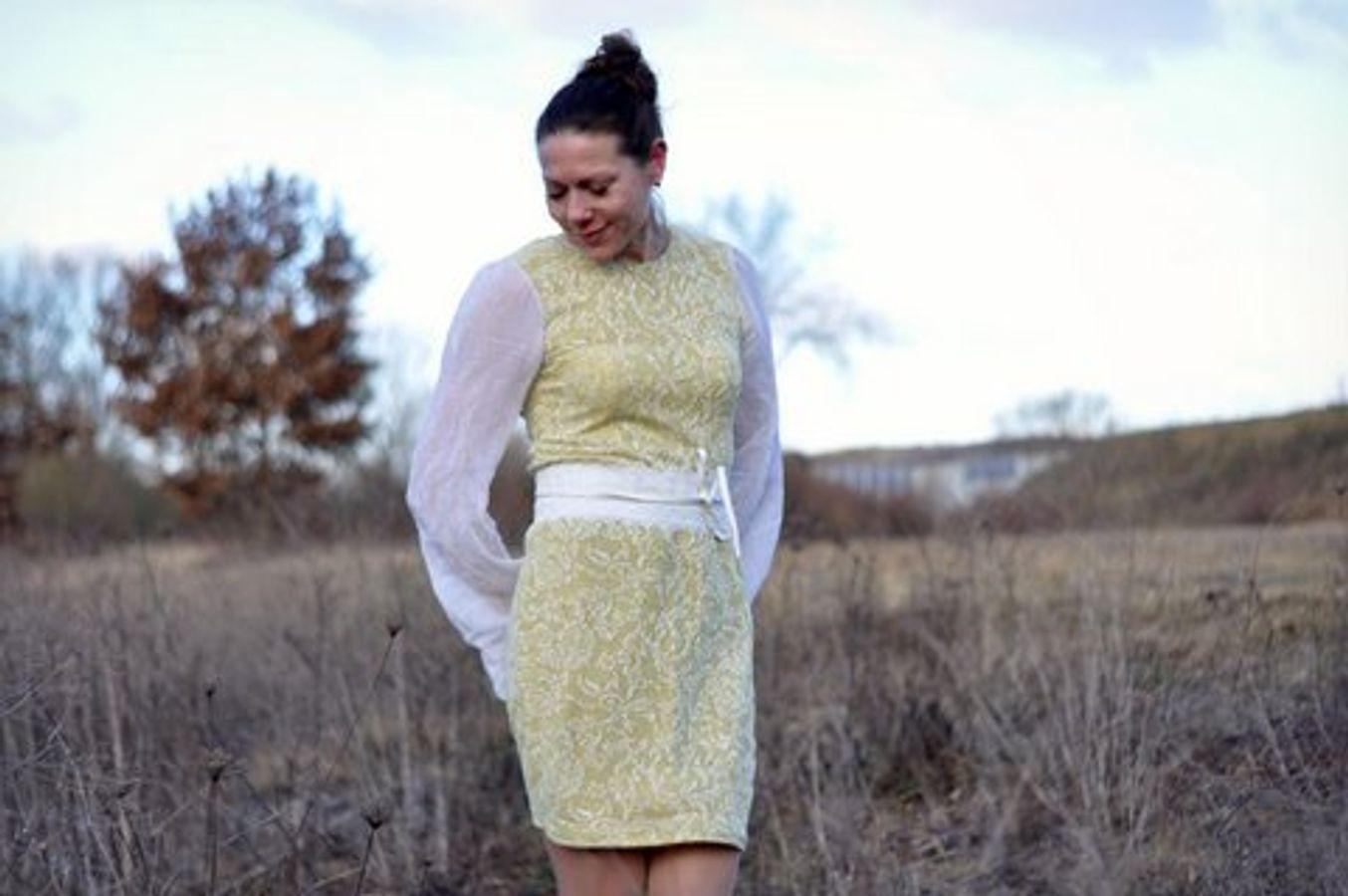 Produktfoto 71 von drei eMs für Schnittmuster Shirt/Kleid LACONA + Rock CLARIE XS-XXXL