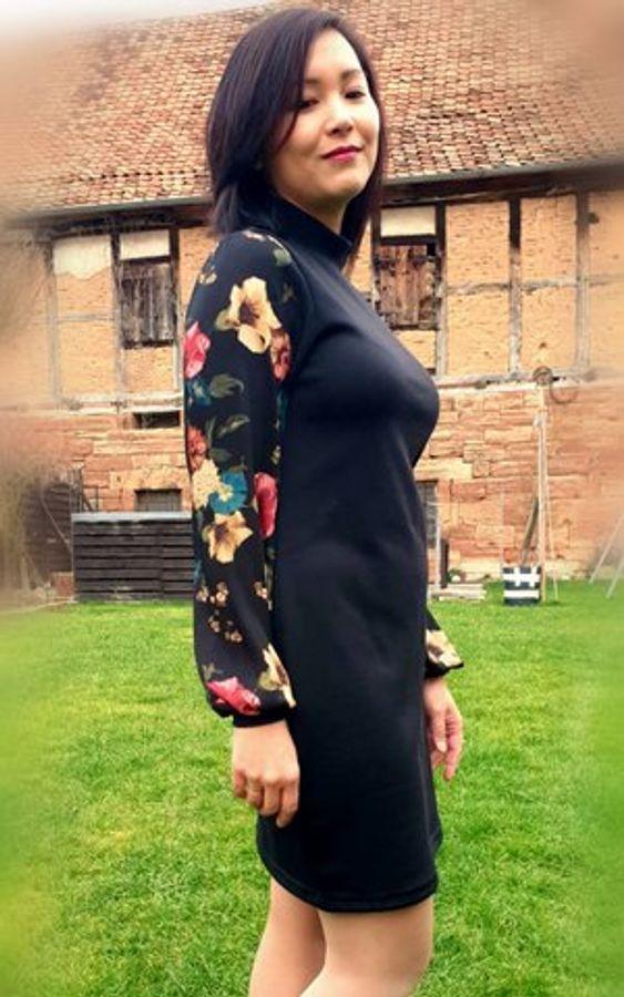 Produktfoto 79 von drei eMs für Schnittmuster Shirt/Kleid LACONA + Rock CLARIE XS-XXXL