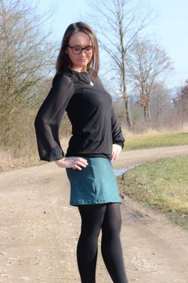 Produktfoto 80 von drei eMs für Schnittmuster Shirt/Kleid LACONA + Rock CLARIE XS-XXXL