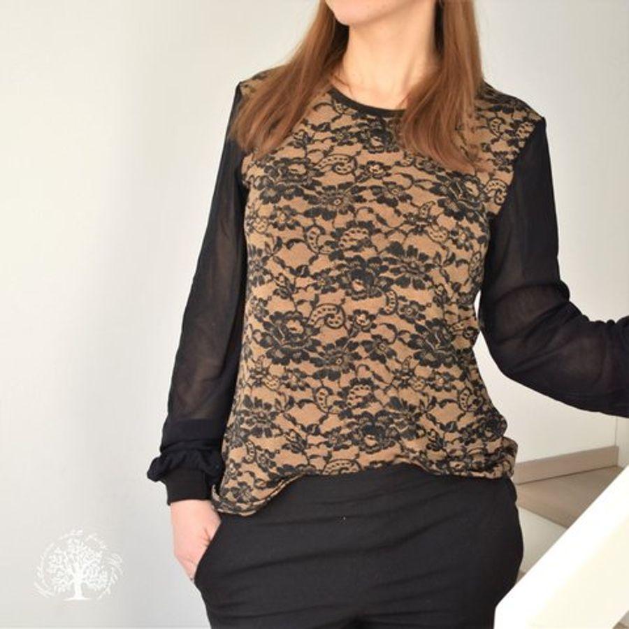 Produktfoto 87 von drei eMs für Schnittmuster Shirt/Kleid LACONA + Rock CLARIE XS-XXXL