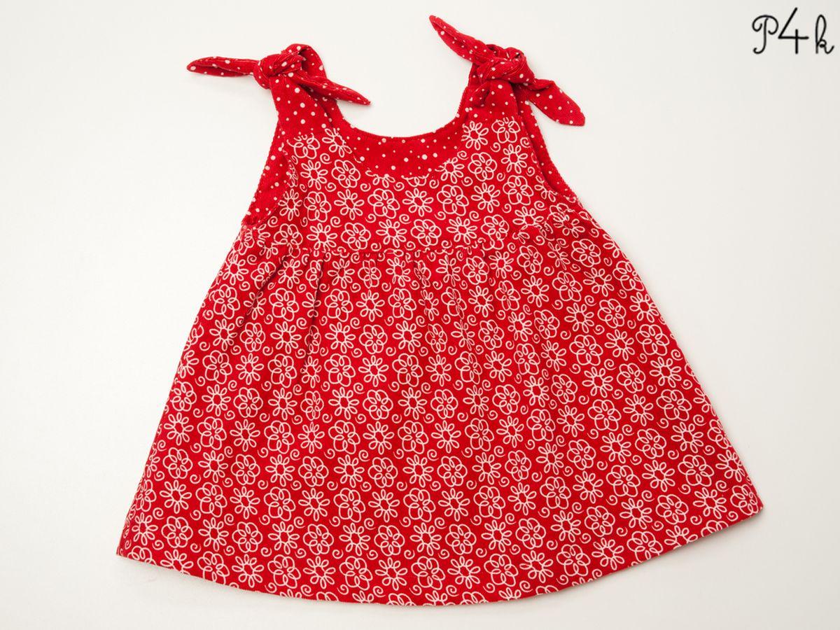 Produktfoto 4 von Pattern 4 kids für Schnittmuster Elisa und Lipsia - Kleid und Pumphose kombiniert