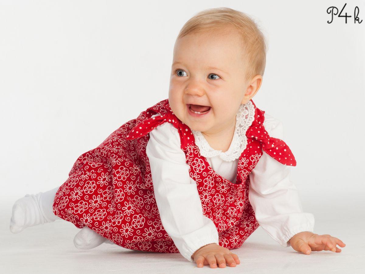Produktfoto 5 von Pattern 4 kids für Schnittmuster Elisa und Lipsia - Kleid und Pumphose kombiniert