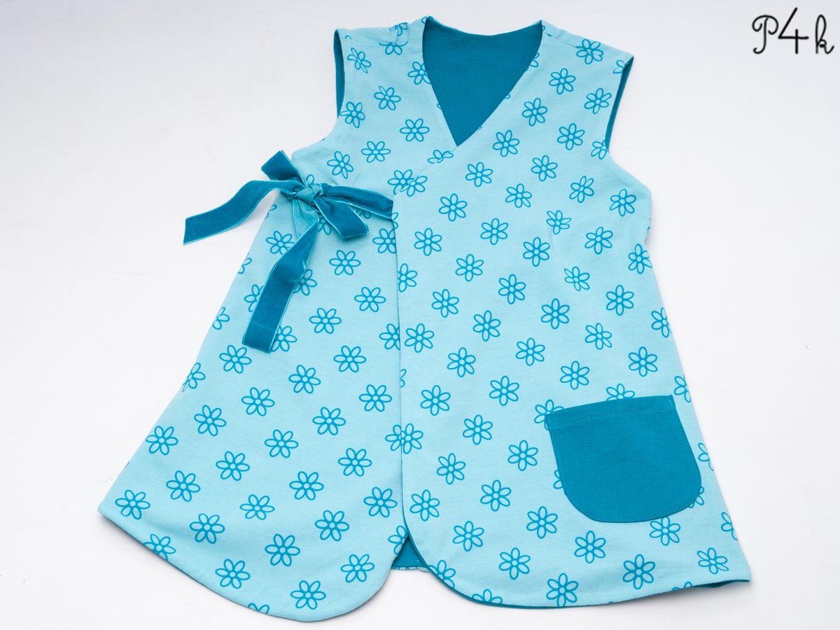 Produktfoto 3 von Pattern 4 kids für Schnittmuster Marie und Bibi, Leggings und Tunika im Set