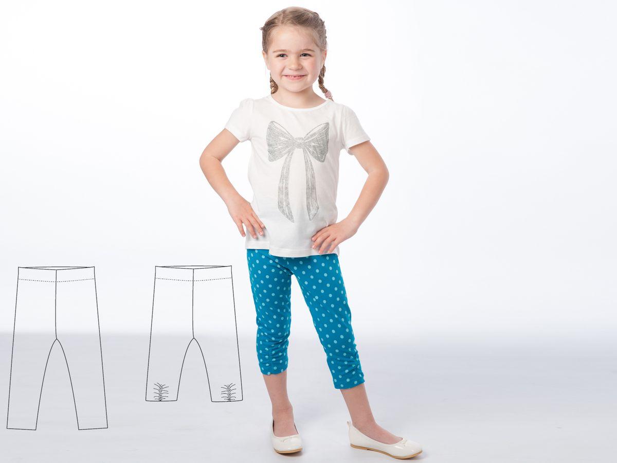 Produktfoto 6 von Pattern 4 kids für Schnittmuster Marie und Bibi, Leggings und Tunika im Set