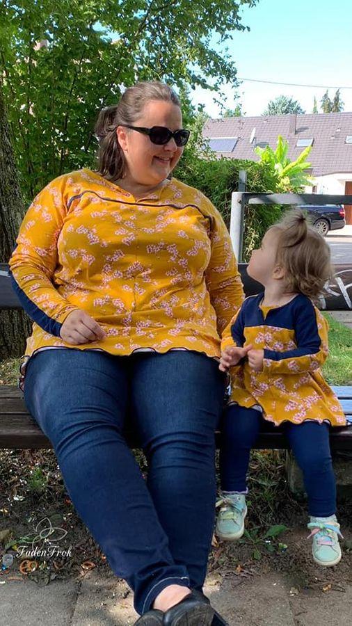 Produktfoto 3 von Unendlich schön - Design Anita Lüchtefeld für Schnittmuster Ginger Mama Kind Raglan Kleiderschnitt