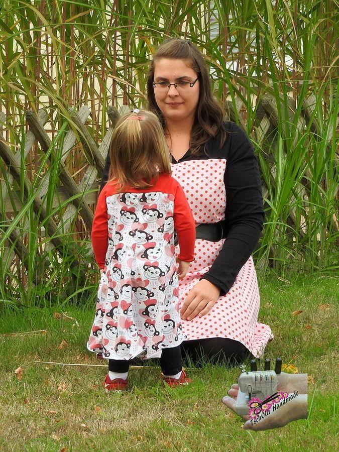 Produktfoto 6 von Unendlich schön - Design Anita Lüchtefeld für Schnittmuster Ginger Mama Kind Raglan Kleiderschnitt