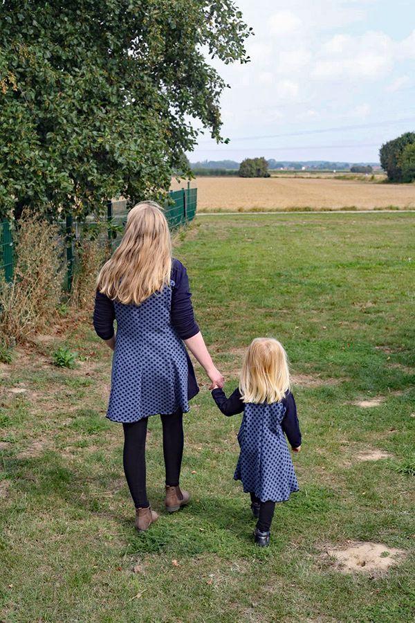 Produktfoto 7 von Unendlich schön - Design Anita Lüchtefeld für Schnittmuster Ginger Mama Kind Raglan Kleiderschnitt