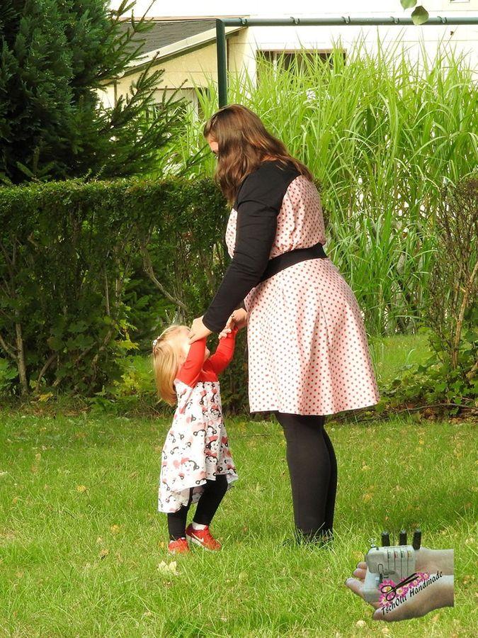 Produktfoto 8 von Unendlich schön - Design Anita Lüchtefeld für Schnittmuster Ginger Mama Kind Raglan Kleiderschnitt