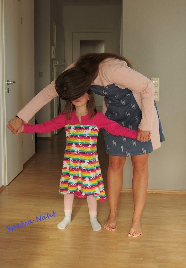 Produktfoto 9 von Unendlich schön - Design Anita Lüchtefeld für Schnittmuster Ginger Mama Kind Raglan Kleiderschnitt