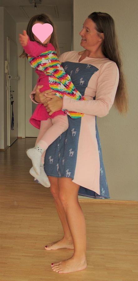 Produktfoto 10 von Unendlich schön - Design Anita Lüchtefeld für Schnittmuster Ginger Mama Kind Raglan Kleiderschnitt