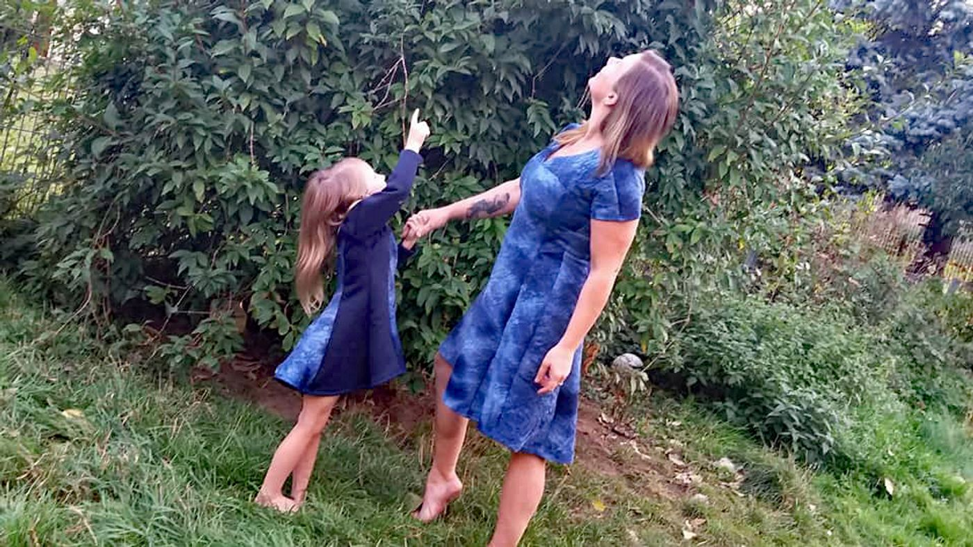 Produktfoto 11 von Unendlich schön - Design Anita Lüchtefeld für Schnittmuster Ginger Mama Kind Raglan Kleiderschnitt
