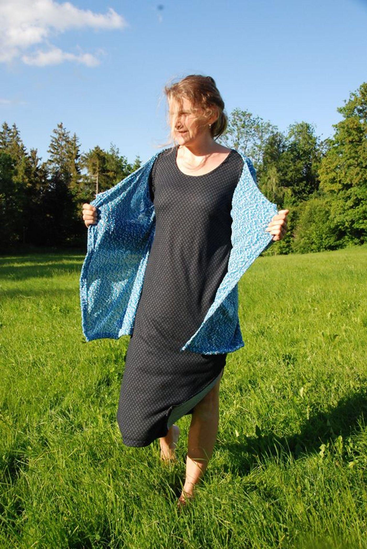 Produktfoto 2 von Unendlich schön - Design Anita Lüchtefeld für Schnittmuster Cardigan Zahra & Basicoberteil Lilie von 34 - 56