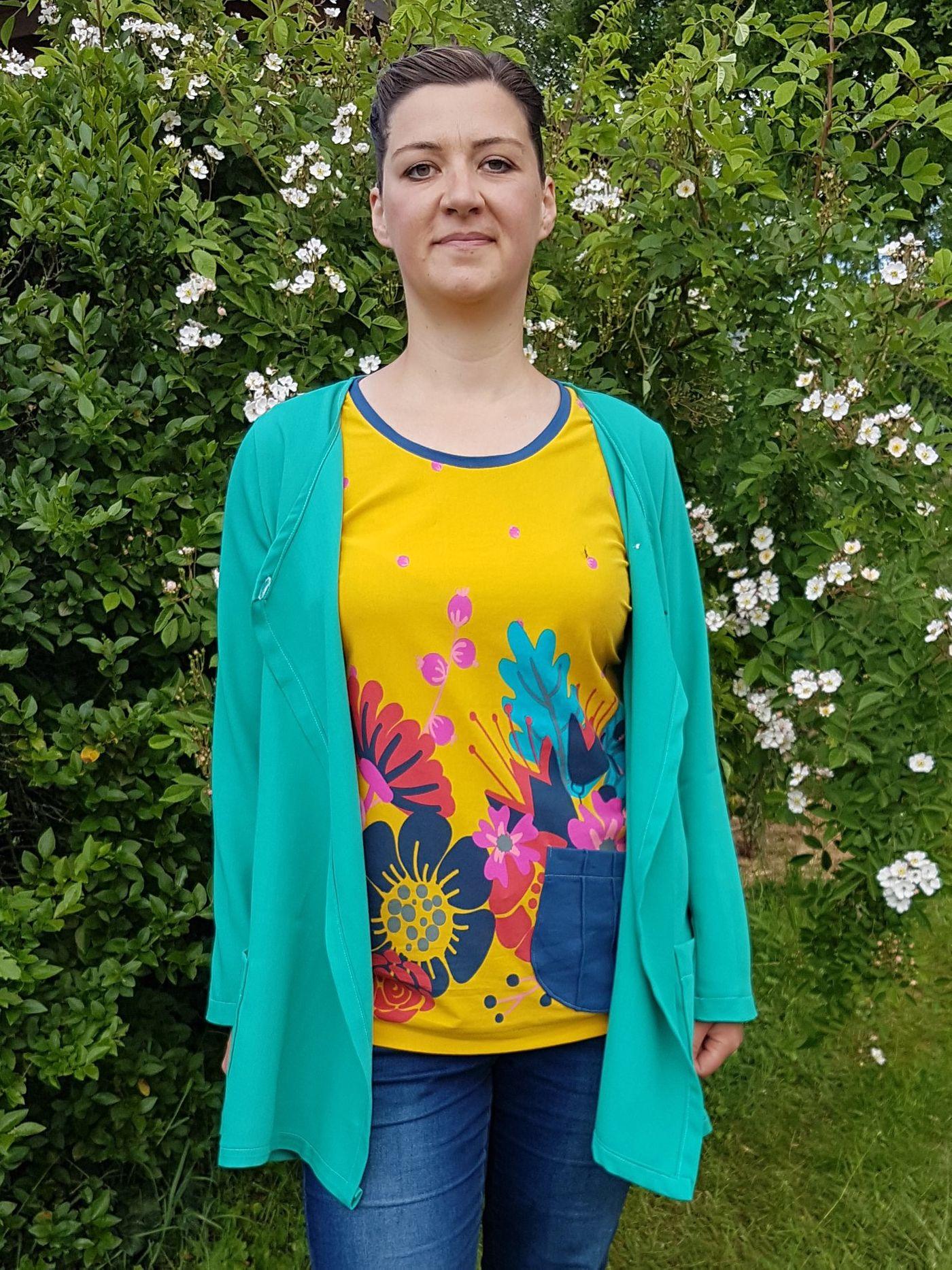 Produktfoto 10 von Unendlich schön - Design Anita Lüchtefeld für Schnittmuster Cardigan Zahra & Basicoberteil Lilie von 34 - 56