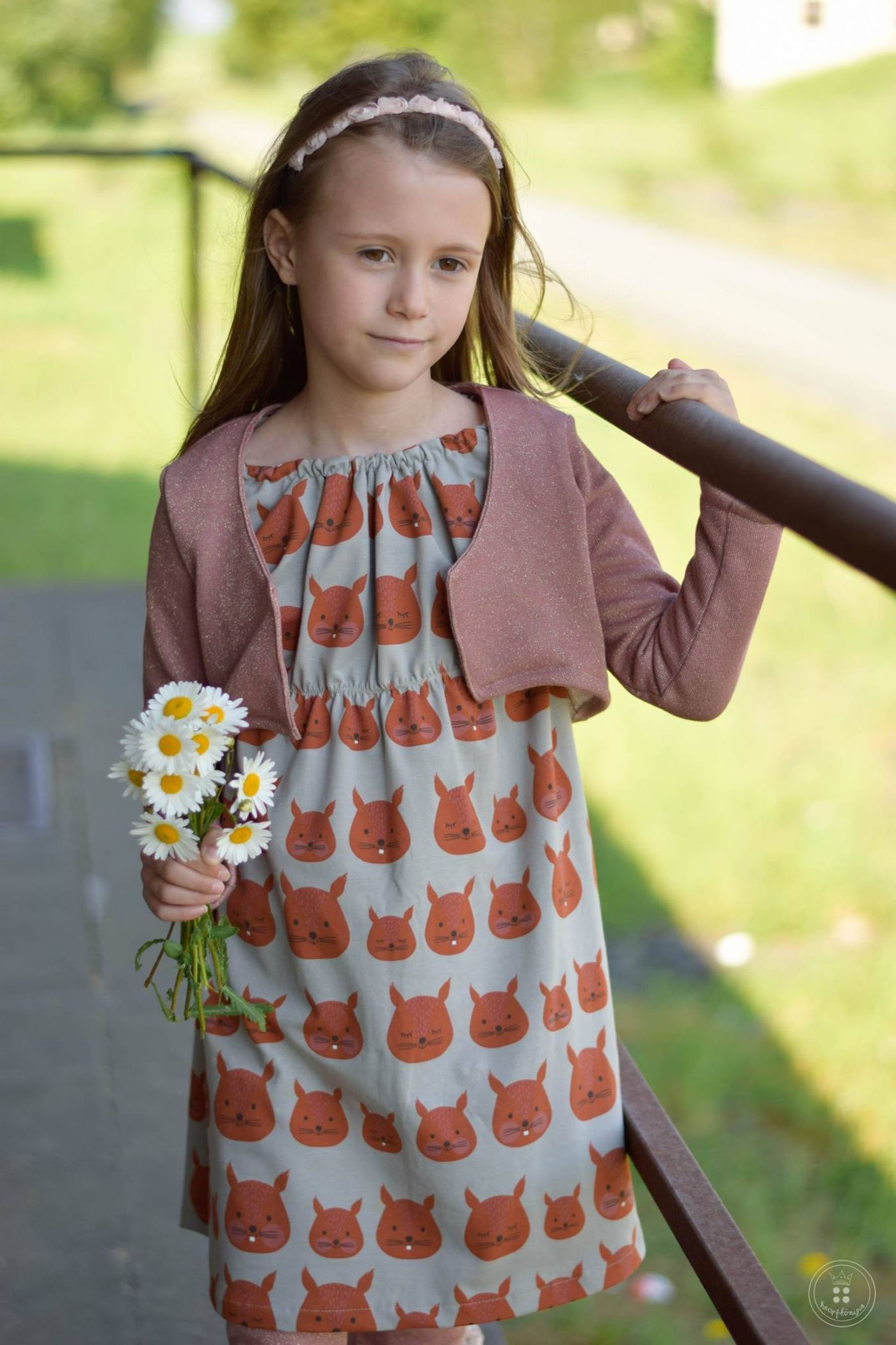 Produktfoto 3 von Katiela für Schnittmuster Ebook Boho Bolero Frauen und Mädchen