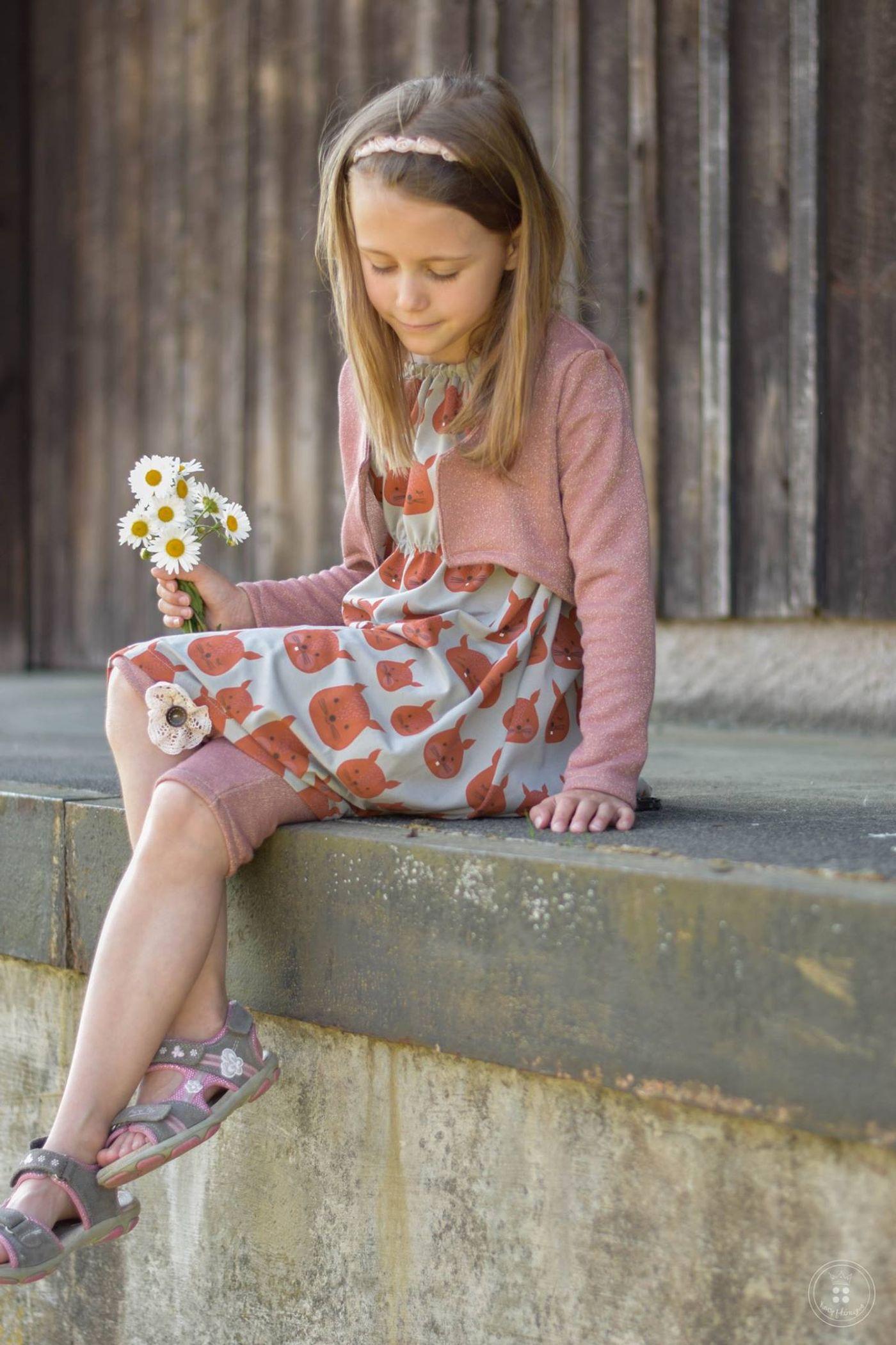 Produktfoto 4 von Katiela für Schnittmuster Ebook Boho Bolero Frauen und Mädchen