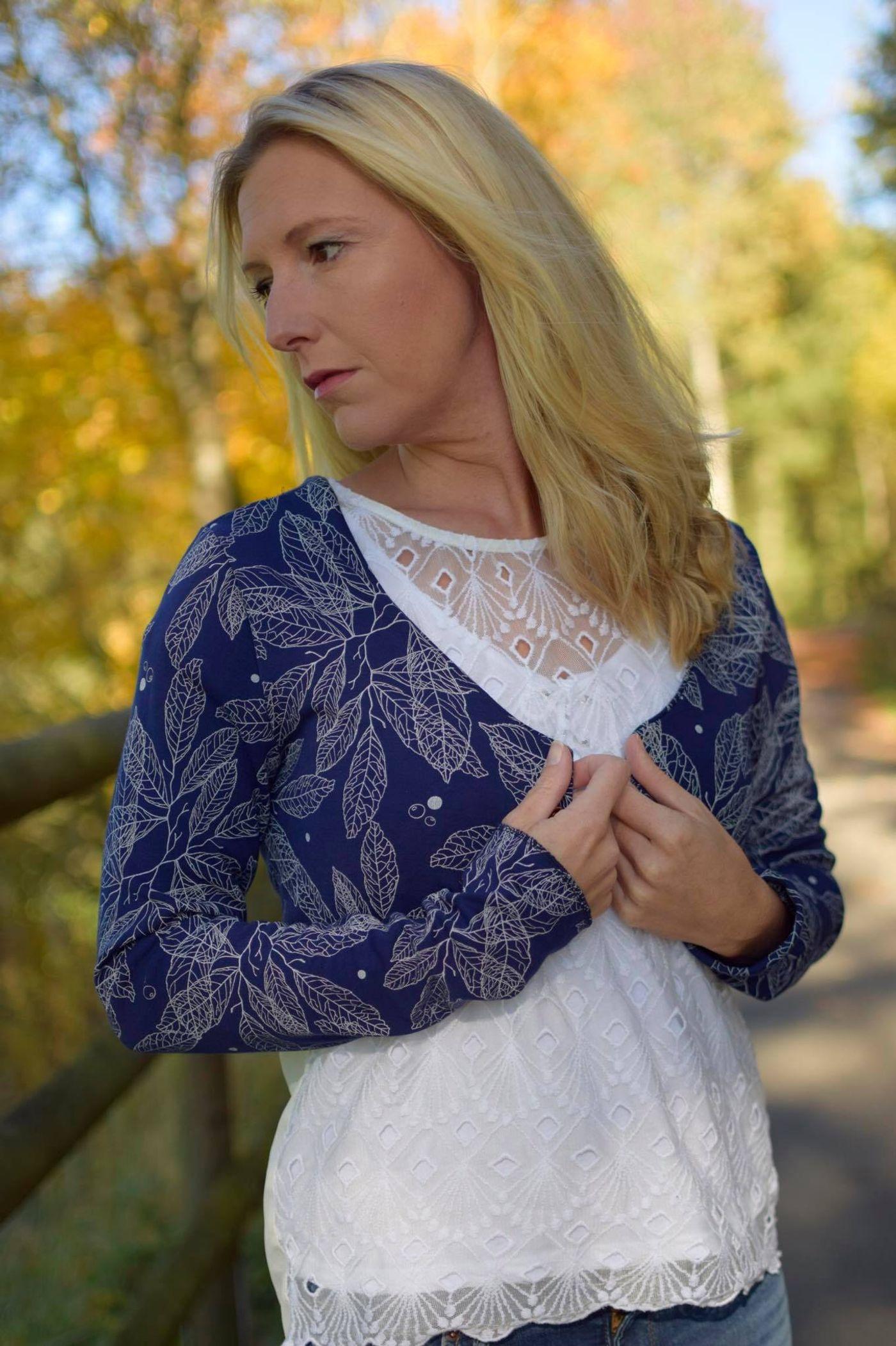 Produktfoto 5 von Katiela für Schnittmuster Ebook Boho Bolero Frauen und Mädchen