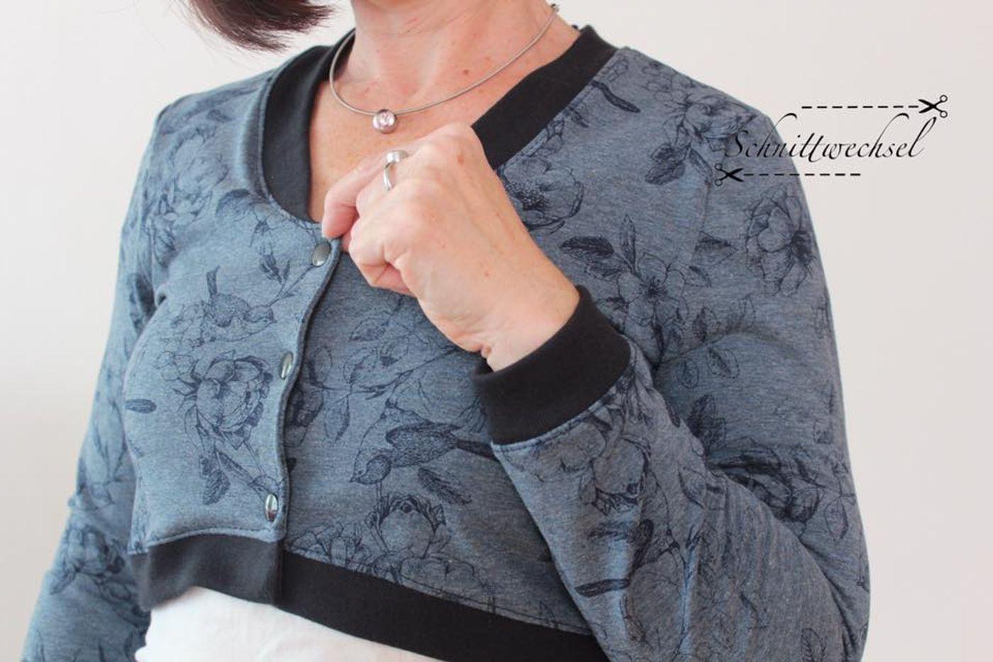Produktfoto 6 von Katiela für Schnittmuster Ebook Boho Bolero Frauen und Mädchen