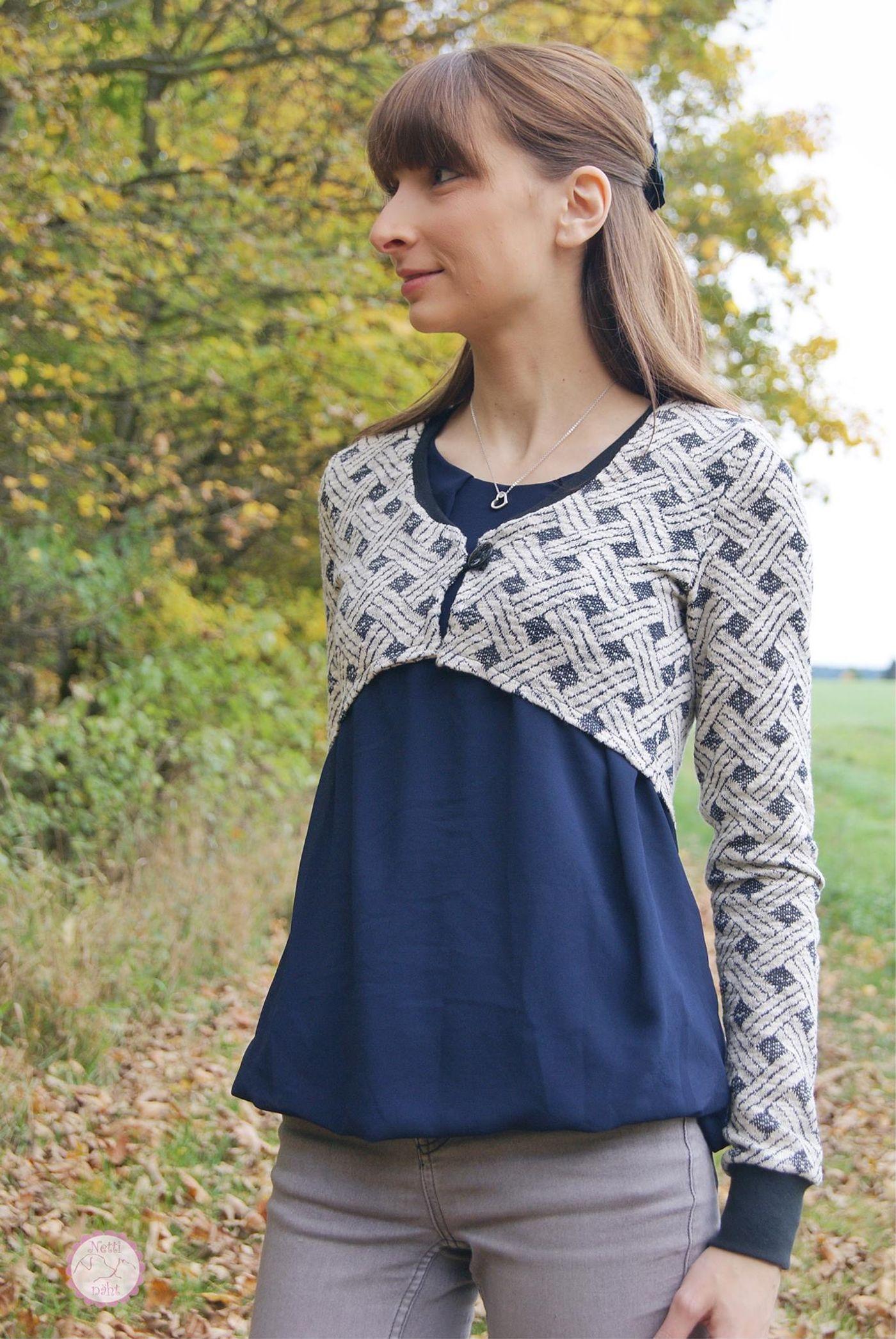 Produktfoto 9 von Katiela für Schnittmuster Ebook Boho Bolero Frauen und Mädchen