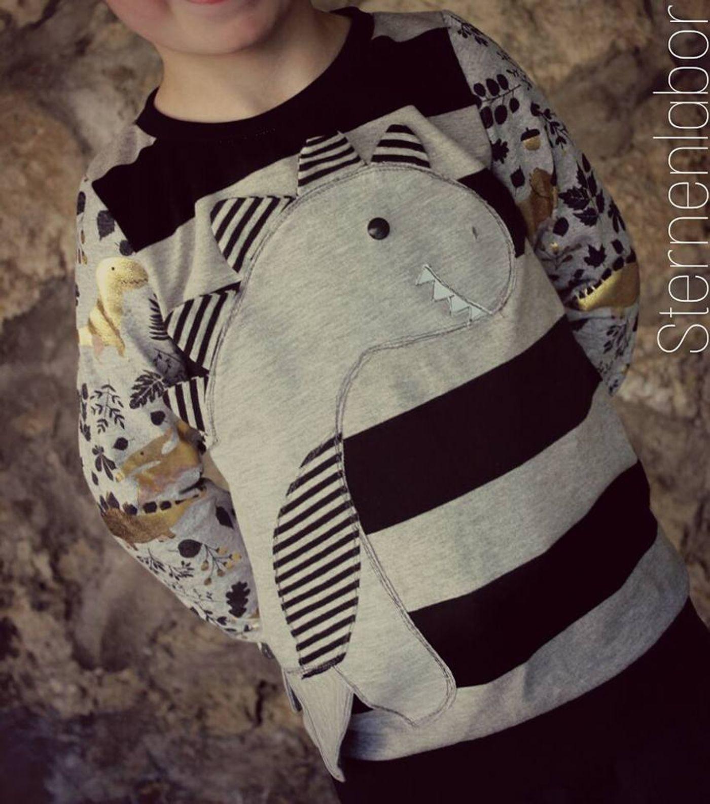 Produktfoto 13 von Katiela für Schnittmuster Ebook Shirt Tilda und Tim