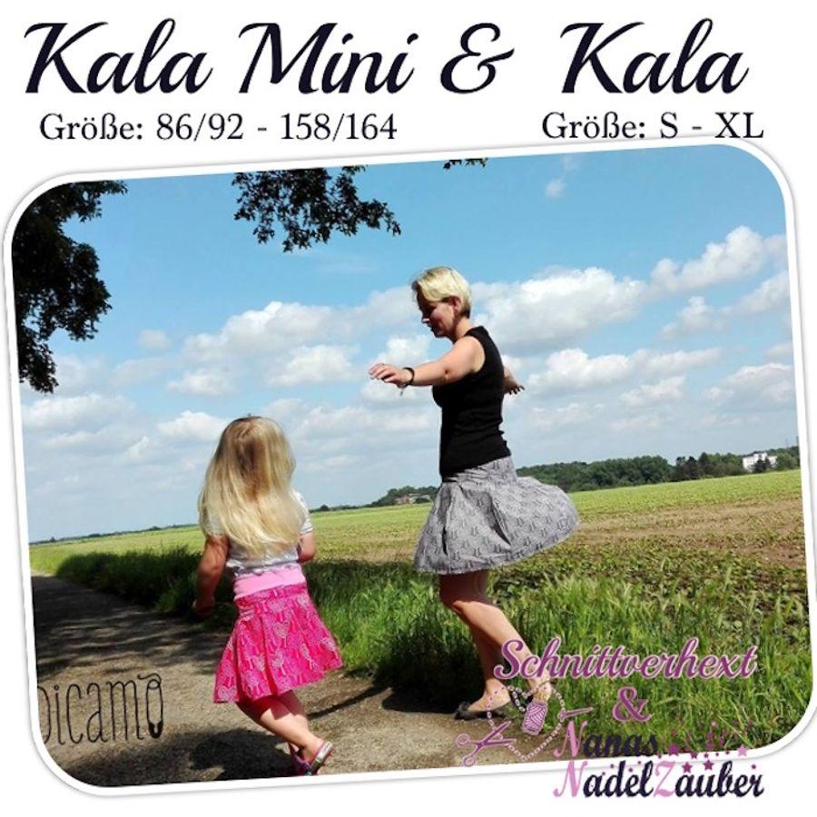 Produktfoto 1 von Schnittverhext für Schnittmuster Kala Doppelpack
