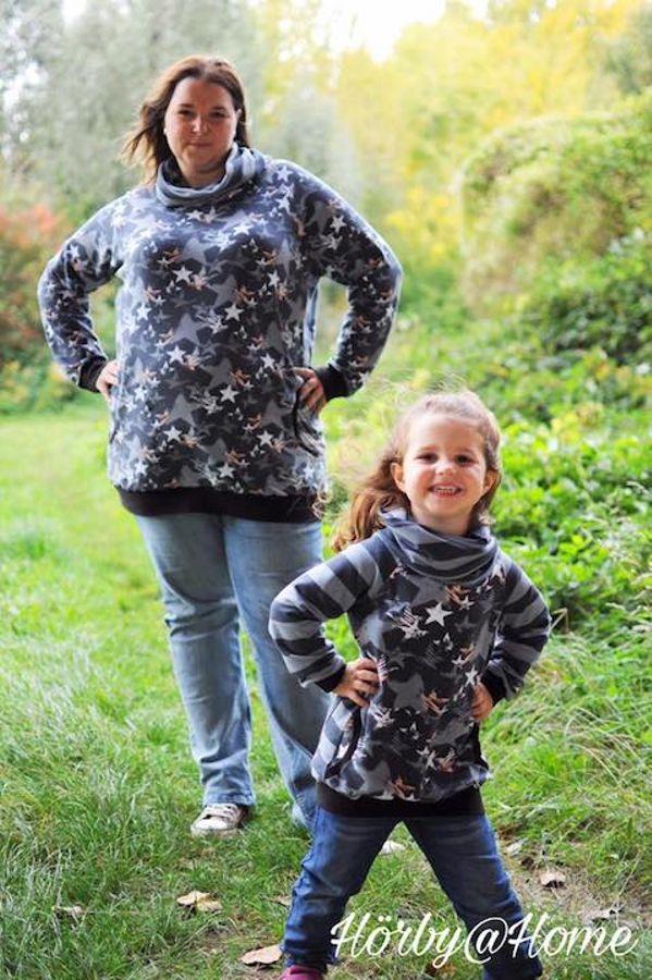 Produktfoto 2 von Nähcram für Schnittmuster Mama/Kind-Kombi: MissWohlgefühl und ÜberHaupt