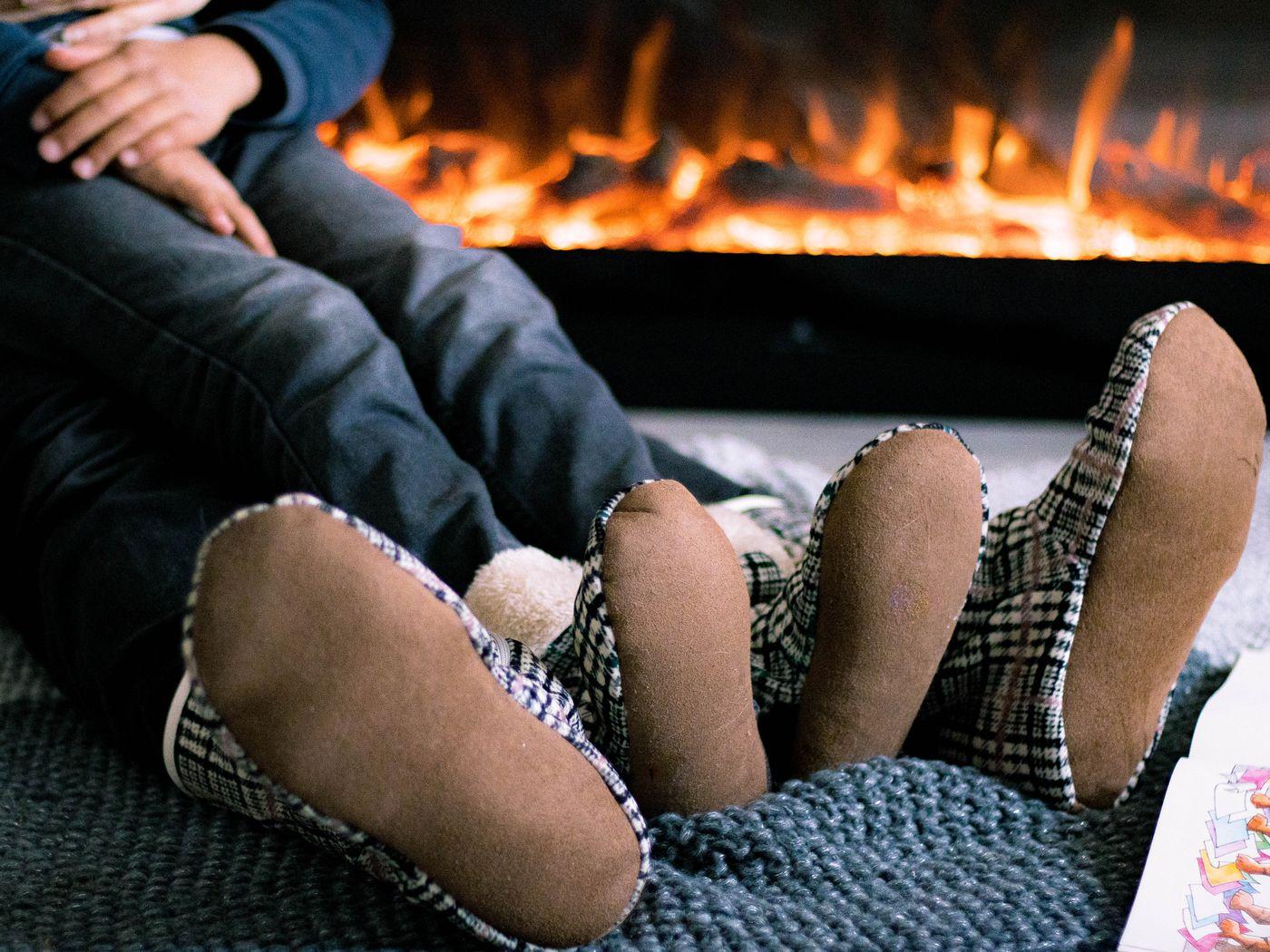Produktfoto 2 von LaLilly Herzileien für Schnittmuster Hüttenschuhe Comodidad Family