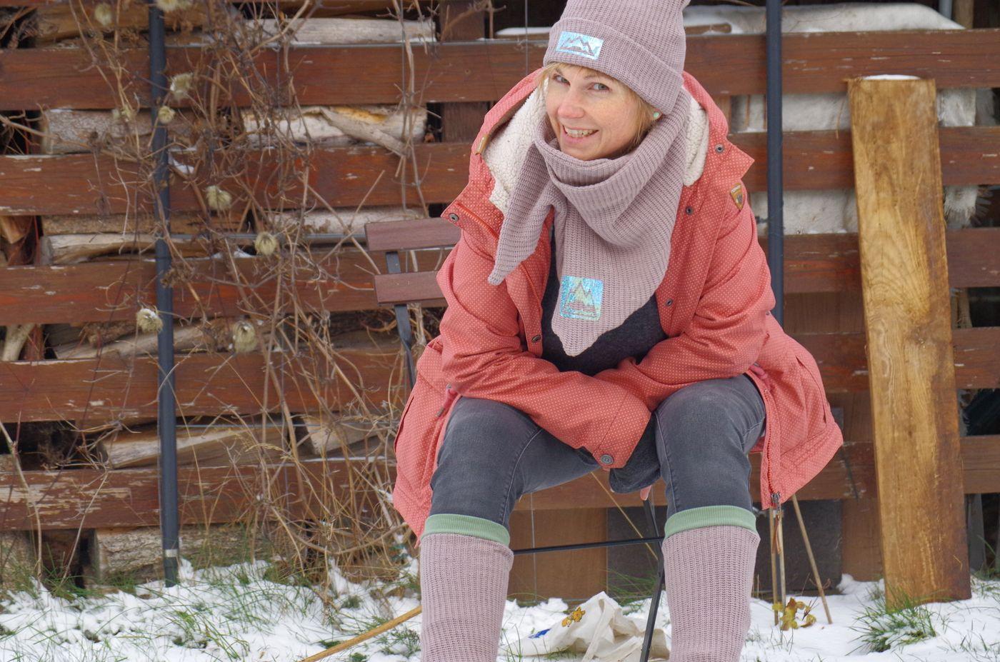 Produktfoto 4 von Fadenblau für Schnittmuster Blauer Winter