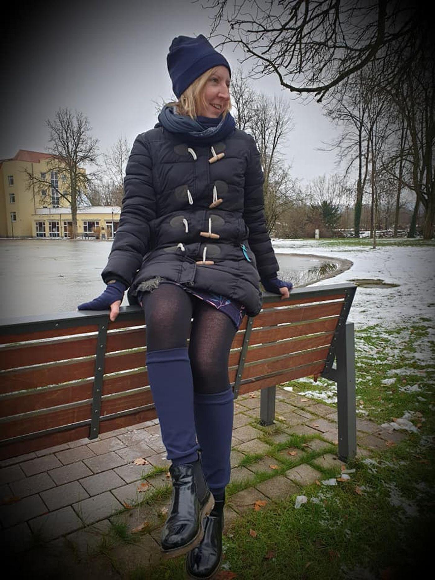 Produktfoto 9 von Fadenblau für Schnittmuster Blauer Winter