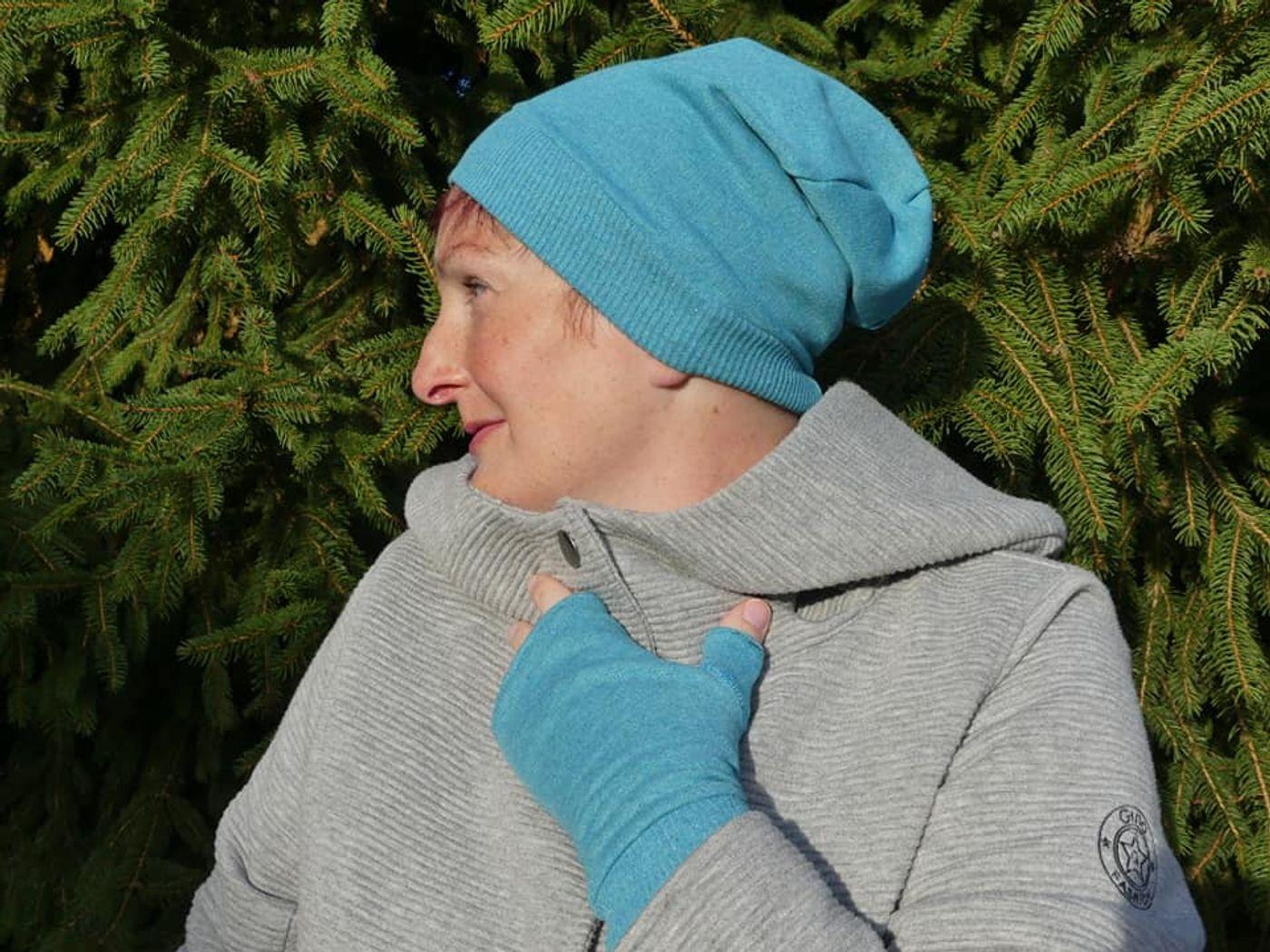 Produktfoto 10 von Fadenblau für Schnittmuster Blauer Winter