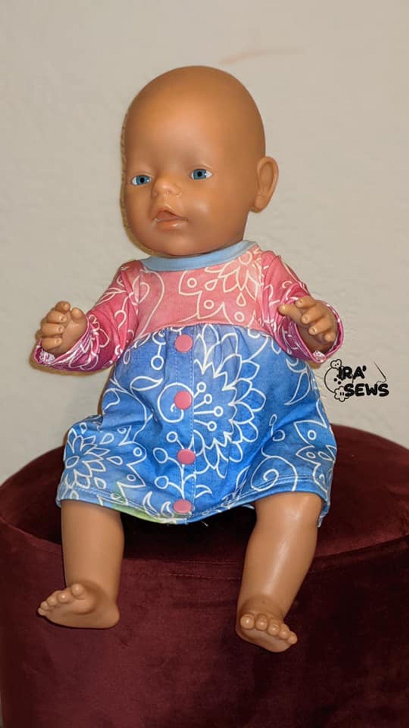 Produktfoto 2 von Happy Pearl für Schnittmuster Little Keyla + Happy Keyla - Tunika und 43cm Puppenschnitt