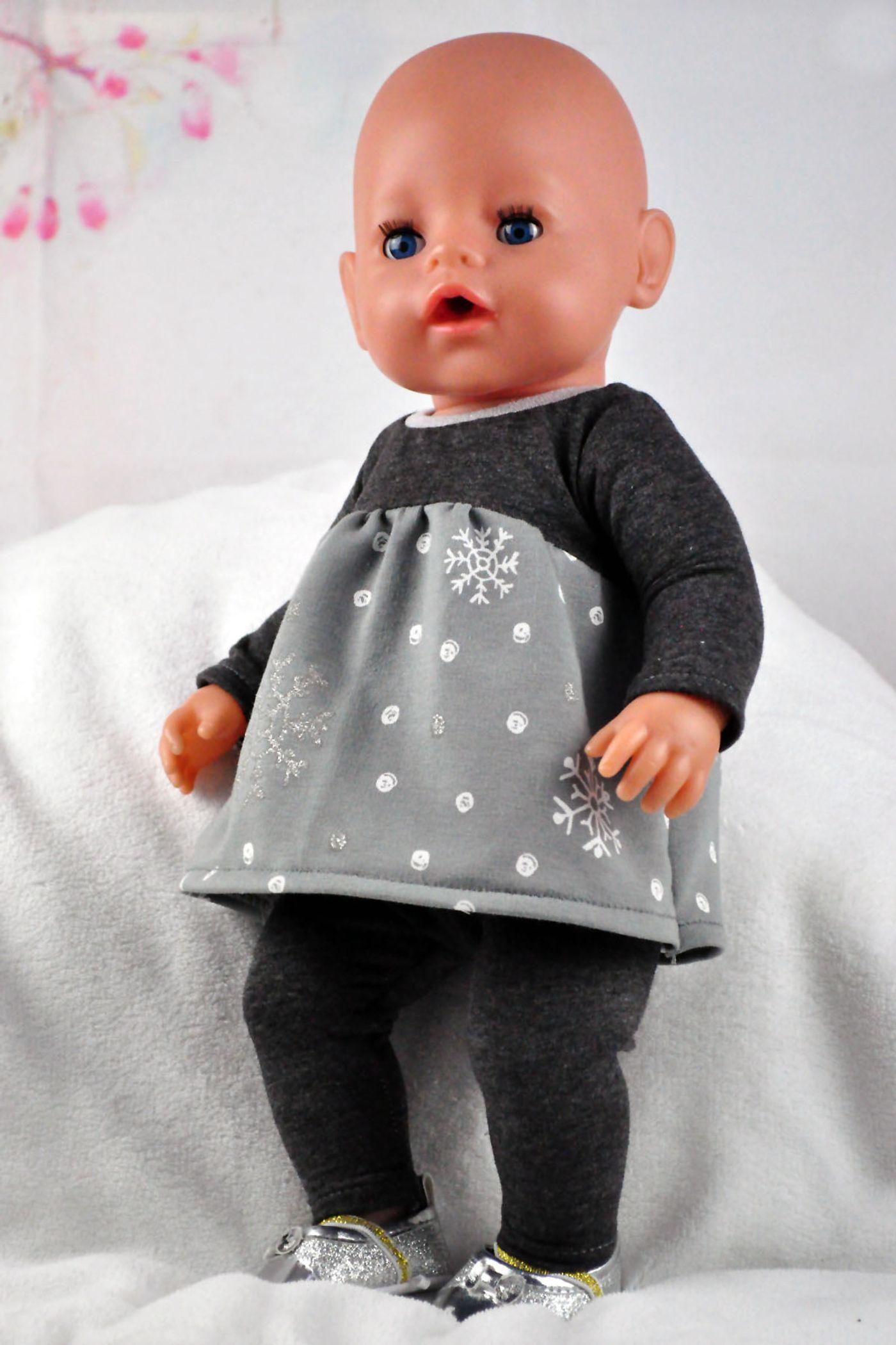 Produktfoto 4 von Happy Pearl für Schnittmuster Little Keyla + Happy Keyla - Tunika und 43cm Puppenschnitt