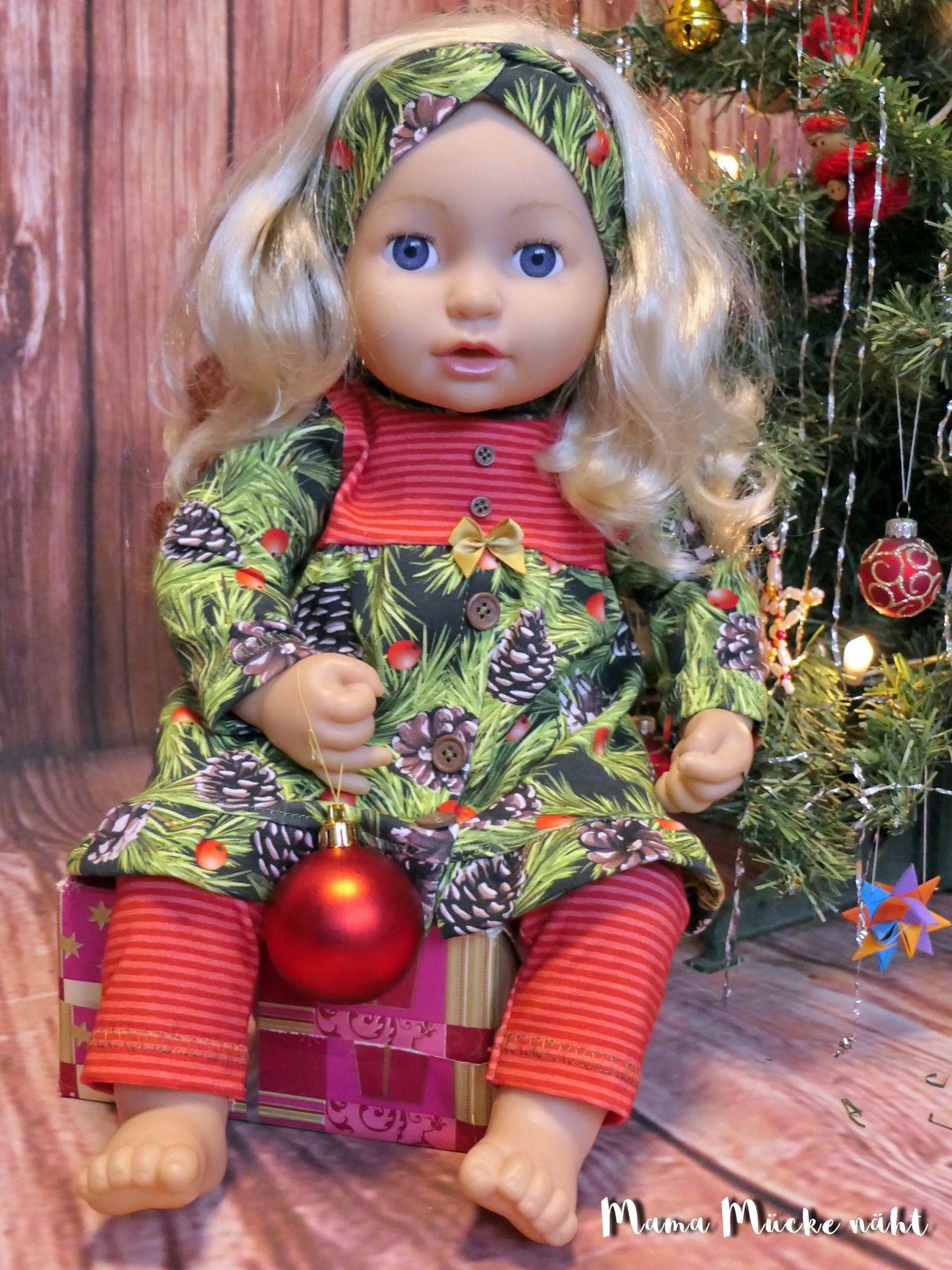 Produktfoto 6 von Happy Pearl für Schnittmuster Little Keyla + Happy Keyla - Tunika und 43cm Puppenschnitt