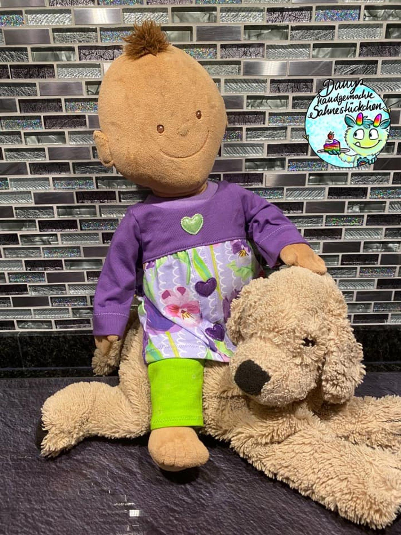 Produktfoto 7 von Happy Pearl für Schnittmuster Little Keyla + Happy Keyla - Tunika und 43cm Puppenschnitt