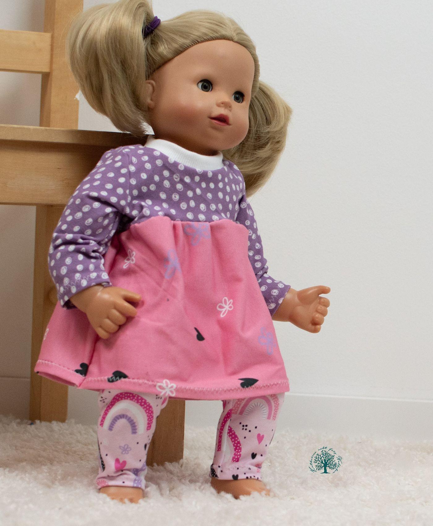 Produktfoto 8 von Happy Pearl für Schnittmuster Little Keyla + Happy Keyla - Tunika und 43cm Puppenschnitt