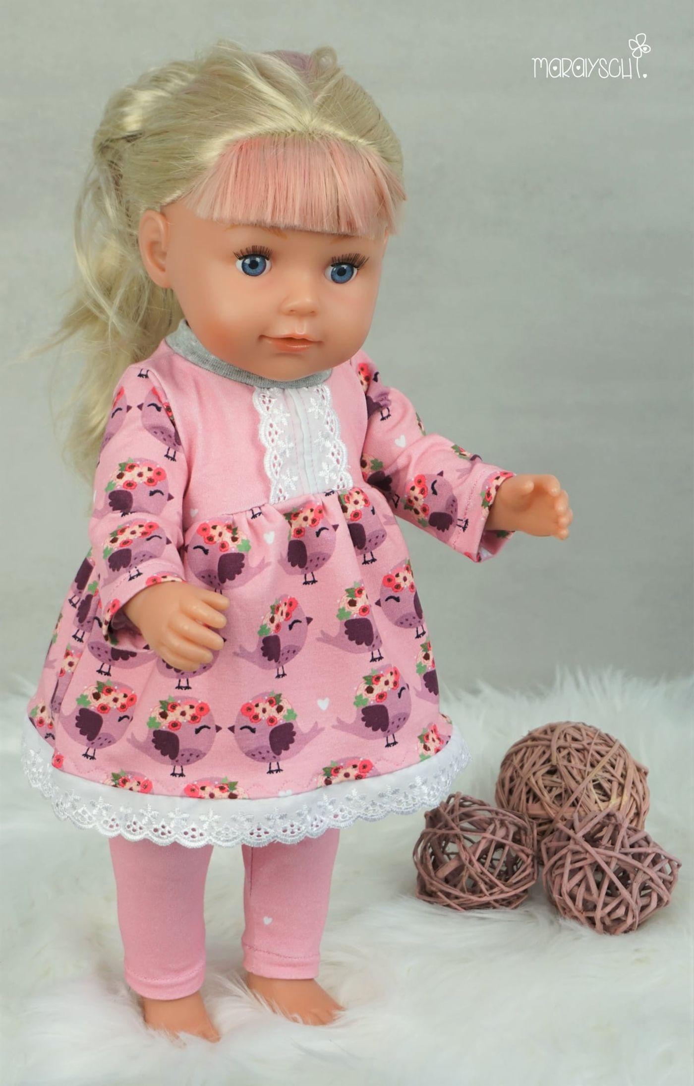 Produktfoto 9 von Happy Pearl für Schnittmuster Little Keyla + Happy Keyla - Tunika und 43cm Puppenschnitt