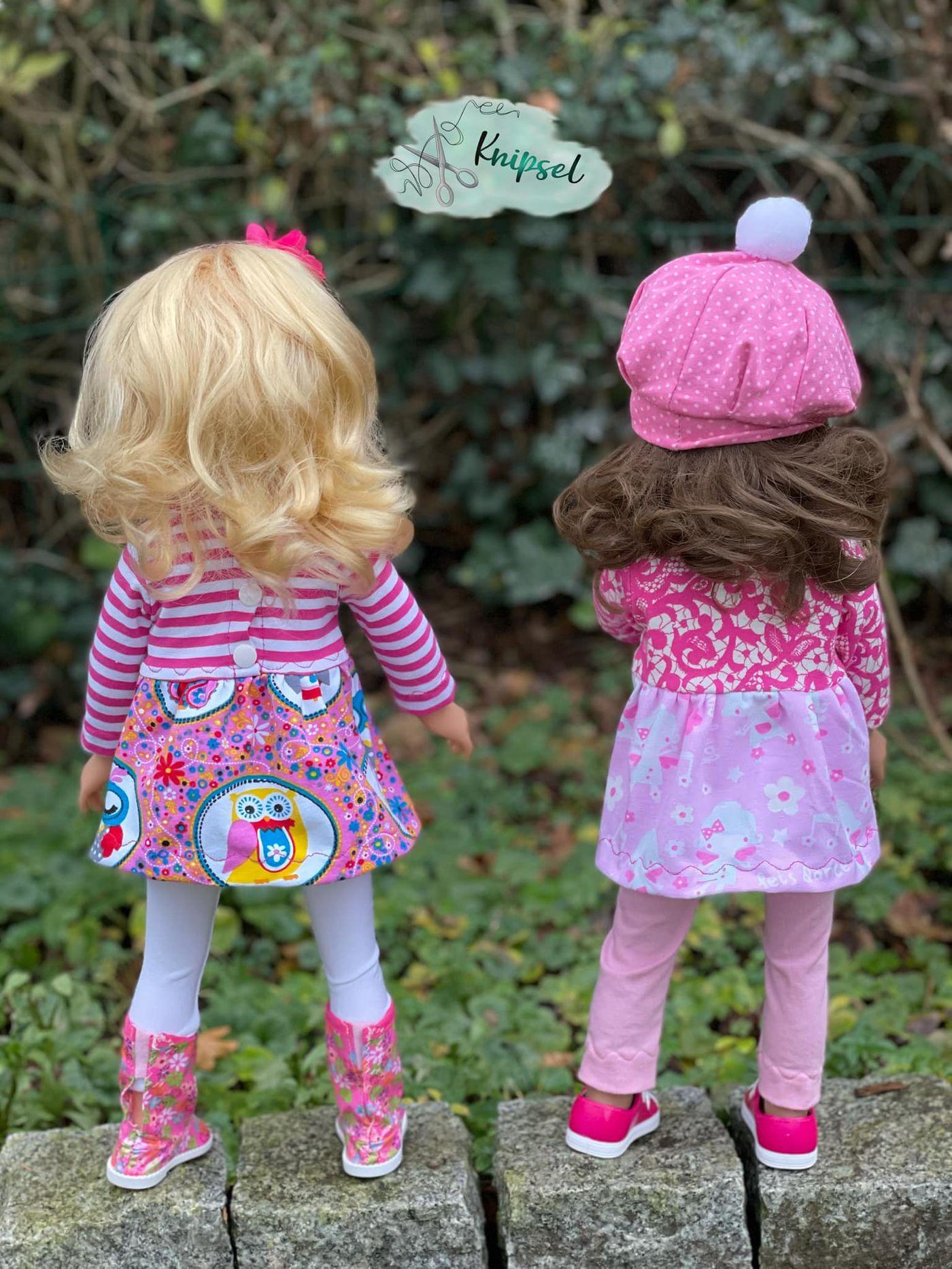 Produktfoto 10 von Happy Pearl für Schnittmuster Little Keyla + Happy Keyla - Tunika und 43cm Puppenschnitt