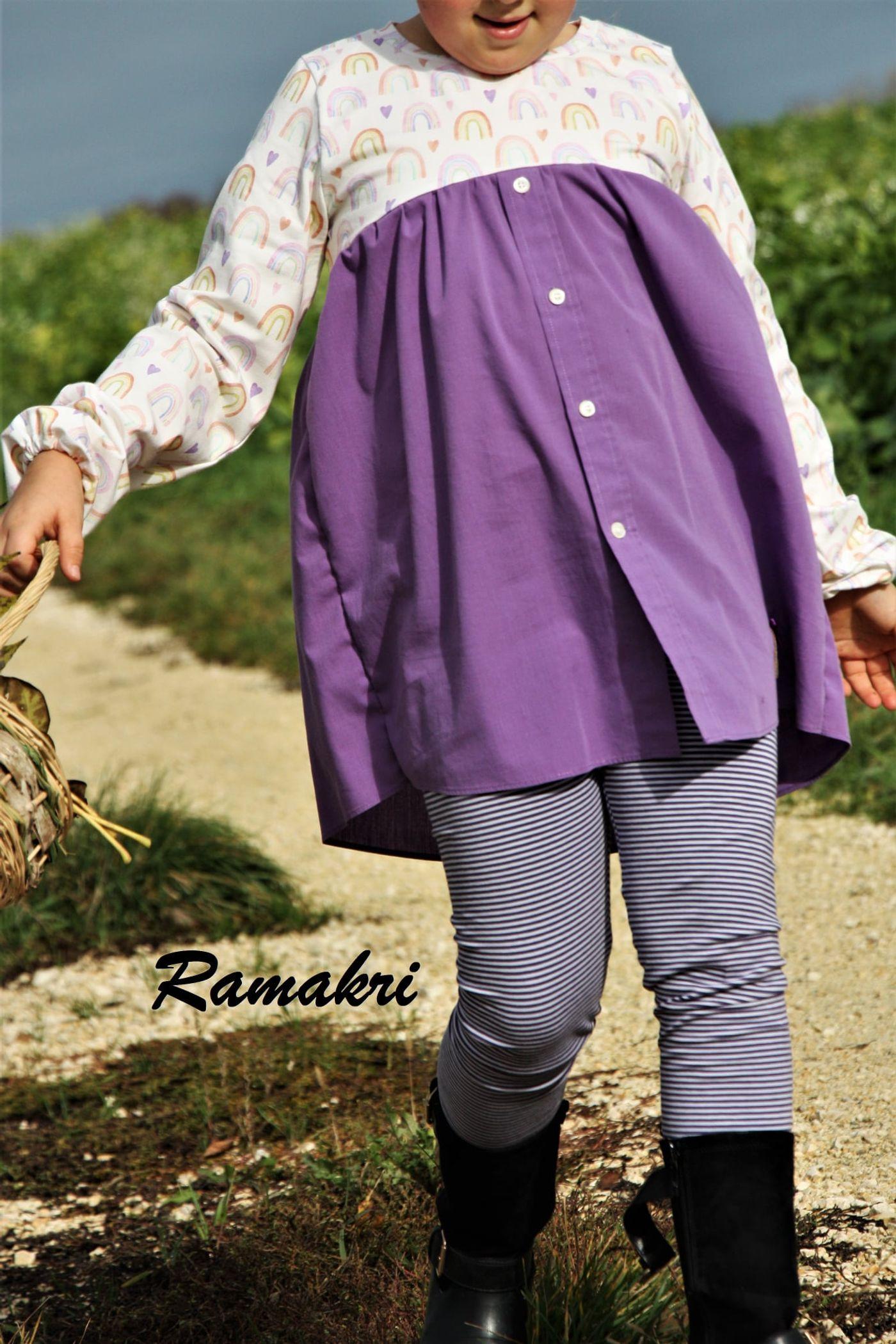 Produktfoto 15 von Happy Pearl für Schnittmuster Little Keyla + Happy Keyla - Tunika und 43cm Puppenschnitt
