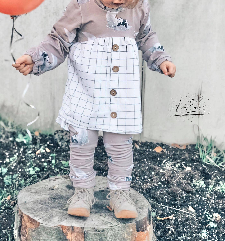 Produktfoto 17 von Happy Pearl für Schnittmuster Little Keyla + Happy Keyla - Tunika und 43cm Puppenschnitt