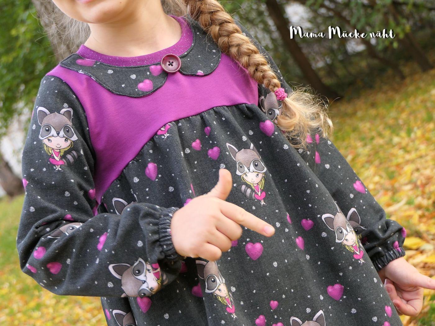 Produktfoto 18 von Happy Pearl für Schnittmuster Little Keyla + Happy Keyla - Tunika und 43cm Puppenschnitt