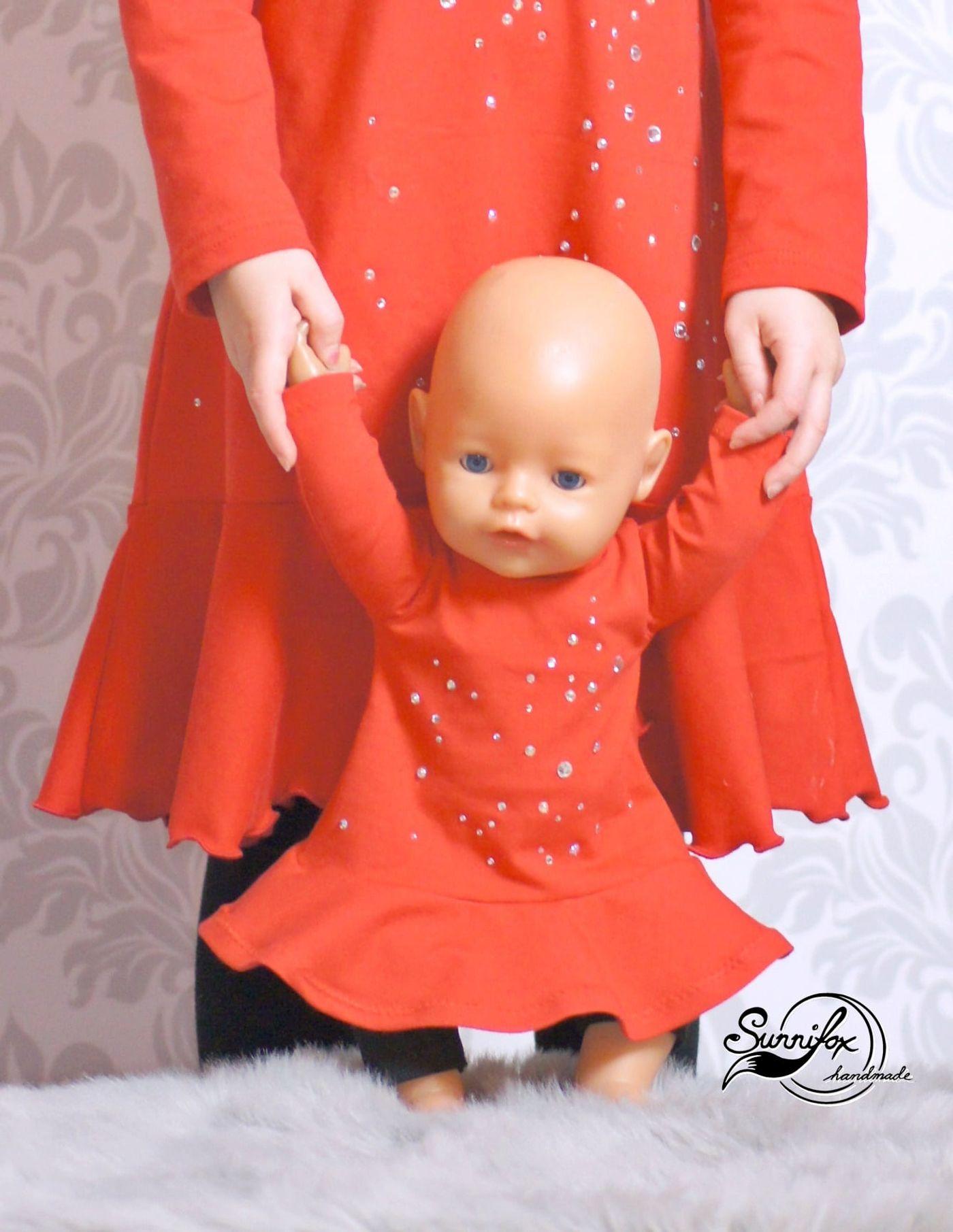 Produktfoto 2 von Happy Pearl für Schnittmuster Little SUNdrina + Happy SUNdrina Tunika/Kleid und 43cm Puppenschnitt